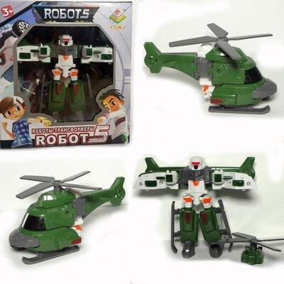 Трансформер робот, вертолет.