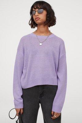 Джемпер кофта свитер женский H&M Xs, в язана кофта светр джемпер H&M. Джемпер с длинными рукавами