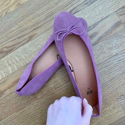 Новые балетки H&M