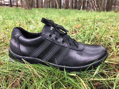 Кожаные мужские кроссовки Украина полная распродажа остатков
