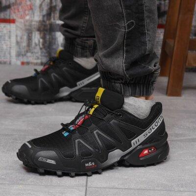 Кроссовки мужские Salomon Speedcross 3, черные