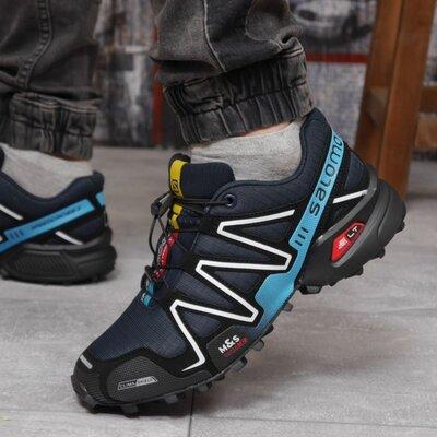 Кроссовки мужские Salomon Speedcross 3, темно-синие