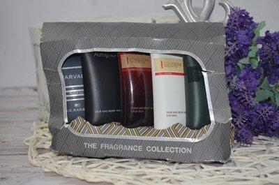 Фирменный мужской набор парфюмированных гелей для душа Marks & Spencer The Fragrance Collection Show