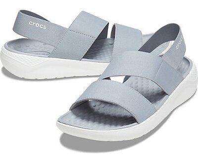 Босоножки сандалии крокс crocs literide stretch sandal open toe оригинал