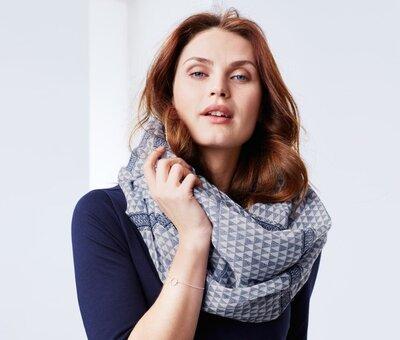 Шаль-Снуд, шарф Tchibo Германия , размер универсальный
