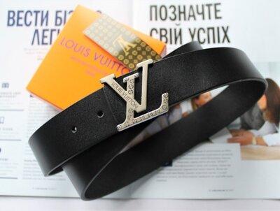 Ремень Louis Vuitton унисекс черный