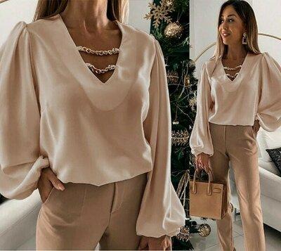 Женская блуза с декором Palmer