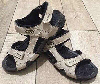 Мужские сандалии кожаные босоножки Ессо. Размер 42, 27.5 см, унисекс