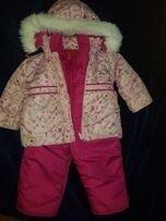 Продано: Комбинезон для девочки зимний костюм розовый ,синий