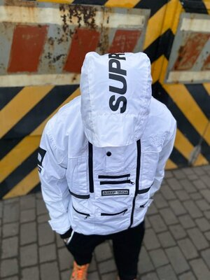Куртка Supreme x The North Face SteepTech White