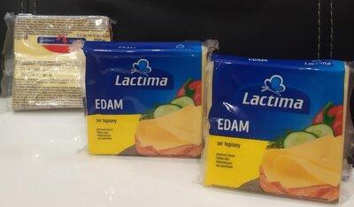 Сыр Эдам тостоввый Lactima 130 г Польша