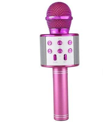 Микрофон караоке Bluetooth WS858 Цвета Разные
