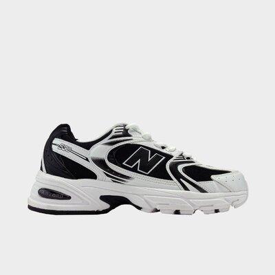 кроссовки мужские New Balance 530, белые и черные