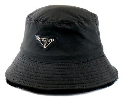 Продано: Зимняя черная панама Prada Milano.
