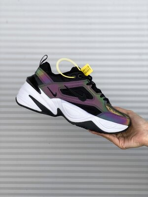 Женские Кроссовки Nike M2K Tekno Black AAA 36-37-38-39-40