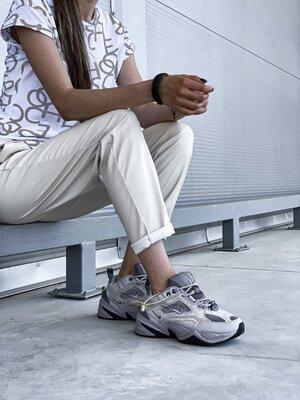 Женские Кроссовки Nike M2K Tekno grey aaa 36-37-38-39-40