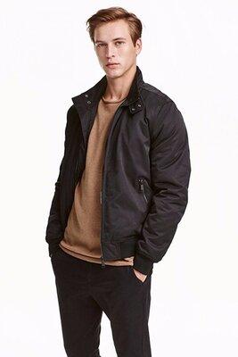 Оригинальная утепленная куртка от бренда H&M разм. L
