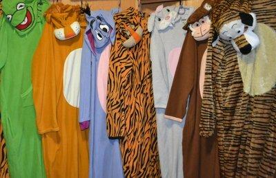 Мужской карнавальный костюм тигр, лягушка, обезьяна, зайчик, взросылй костюм животных