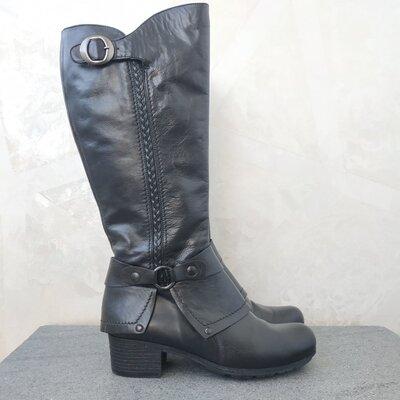 Продано: Кожаные фирменные женские сапожки от Pasito 38 р - оригинал