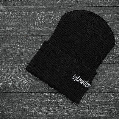 Шапка Intruder черная small logo