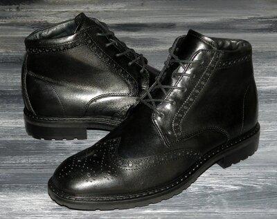 ECCO Vitrus оригинальные, стильные, кожаные невероятно крутые ботинки-челси