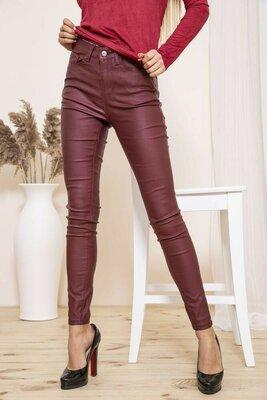 Продано: Женские бордовые брюки джегинсы