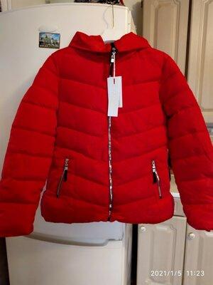 Теплая куртка/деми куртка/красная куртка/весна-зима-осень