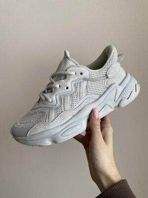 Женские Кроссовки Adidas Ozweego Grey AAA 36-37-38-39-40