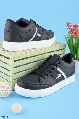 Мужские кроссовки в черном цвете 40-45