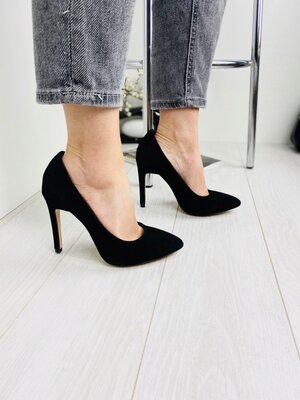 Туфли женские натуральная замша брэнд Nivelle