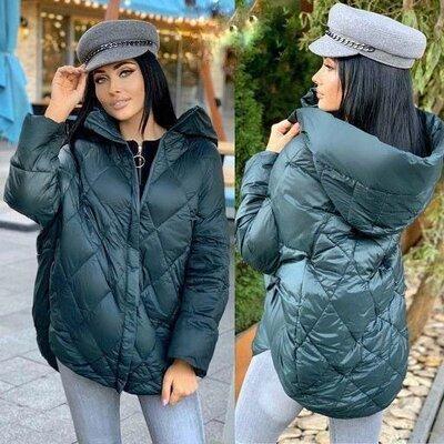Продано: Куртка женская оверсайз. Куртка весна-осень