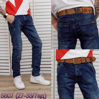 Мужские джинсы темно синие с царапками Blасk Lee 29,30,31,32,34,36 Турция