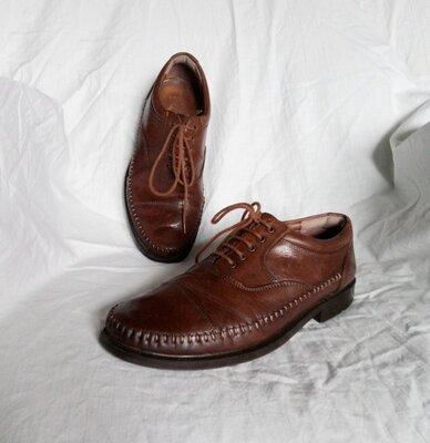 Clarks Туфли оксфорды 39 р. 25,5 см. по стельке . Индия