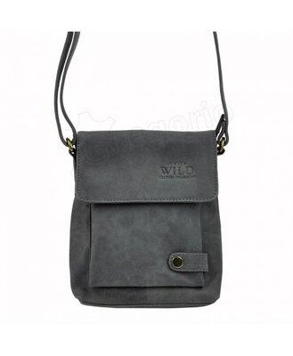Мужская кожаная сумка Wild 012-TGH