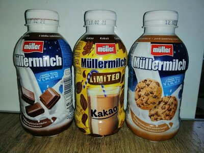 Молоко Müller Müllermilch