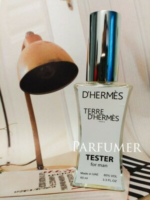 Мужской Hermes Terre D'Ermes, Тестер духов Эрмес мужской, Духи 60 мл