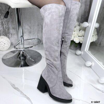 к-2602-1 зима Стильные ботинки - Casual материал верх - натуральная кожа, внутри байка