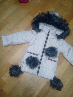 Куртка зимняя на рост 104