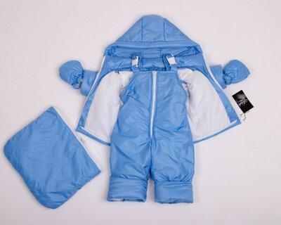 Детский зимний комбинезон для новорождённых