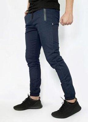 Котоновые мужские штаны синего цвета intruder chesst