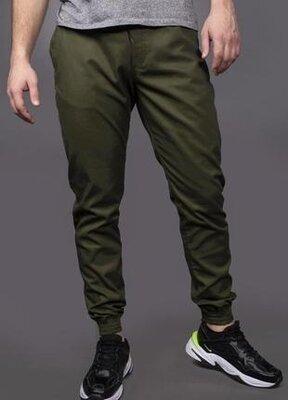 Повседневные мужские штаны карго цвета хаки intruder.