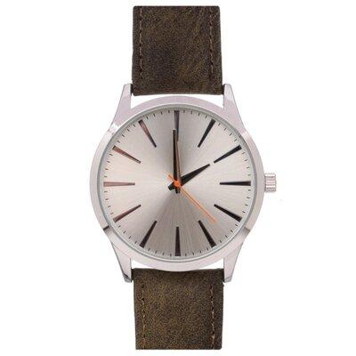 Чоловічий годинник Pier One ss18-01 Dark Brown