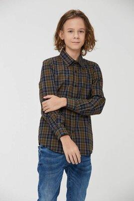Рубашка мальчику в клетку мальчику