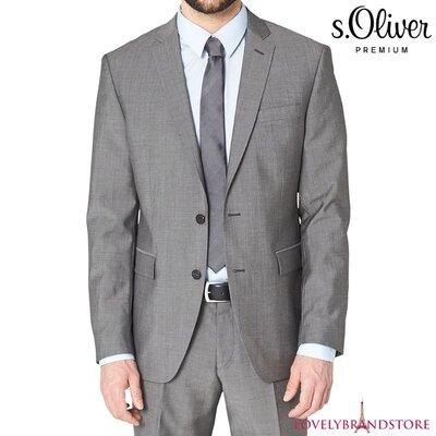 s.Oliver Premium пиджак шерстяной р. 102EU US 42L на высокий рост 100% шерсть