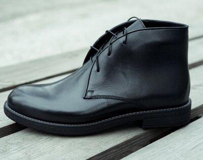 Мужские стильные ботинки демисезонные на байке. Новинка 2021