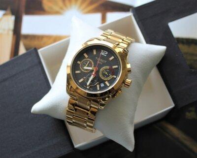 Часы Tissot Chronograph 42 mm Gold