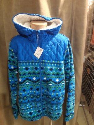Куртка флиска детская с капюшоном 2 цвета