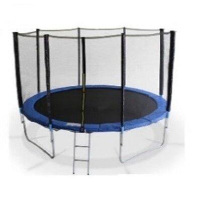 Продано: Батут Sport С-25808 с защитной сеткой и лестницей