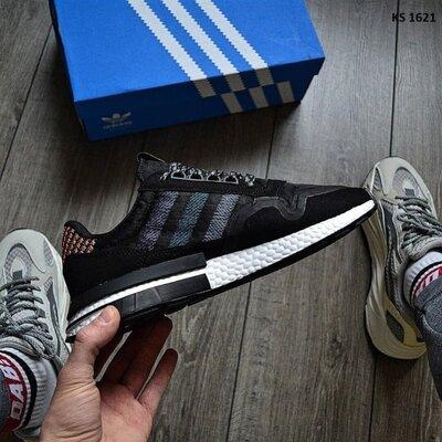 Как оригинал. Кроссовки мужские Adidas ZX 500 RM Commonwealth черные KS 1621