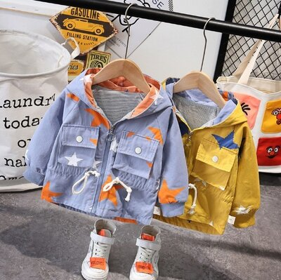 Детская ветровка на мальчика на девочку летняя куртка на трикотаже для мальчика для девочки